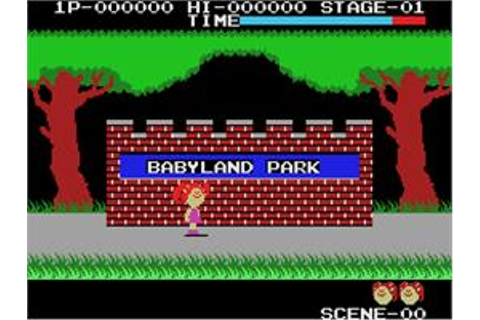 Cabbage Patch Kids Adventures in the Park - Coleco Vision ...