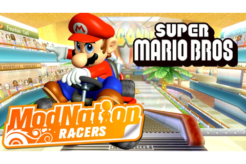 "MODNATION RACERS [PS3] ""Racing with Mario!"" Casual ..."
