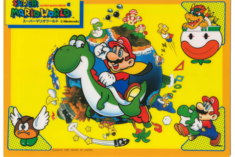 Super Mario World Overview and Game-Art