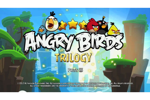 Angry Birds Trilogy Wii - deterse