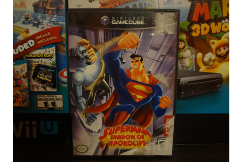 Superman Shadow Of Apokolips Game Cube - $ 250.00 en ...
