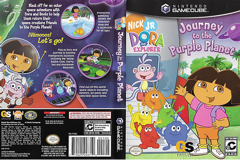 GQLE9G - Dora the Explorer: Journey to the Purple Planet