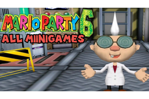 Mario Party 6 All Minigames - YouTube