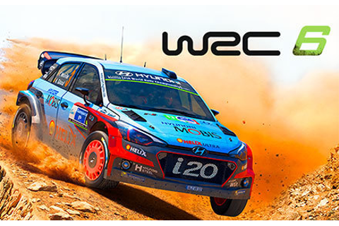 WRC 6 FIA World Rally Championship | wingamestore.com