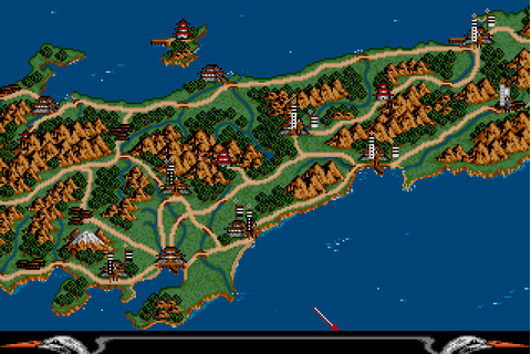 Lords of the Rising Sun (1989) by Cinemaware Amiga game