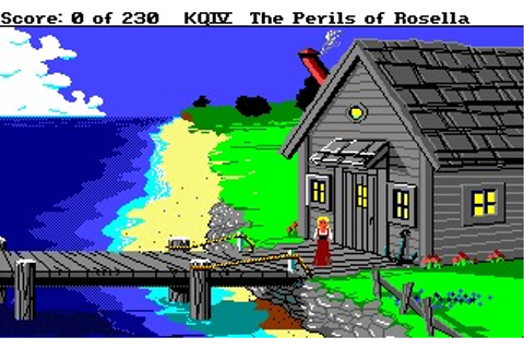 King's Quest IV: The Perils of Rosella (Amiga) Game Download