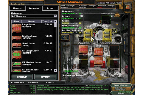Download MechWarrior 4: Mercenaries (Windows) - My Abandonware