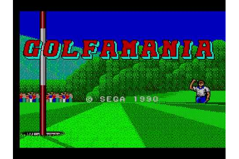 Golfamania (Master System YM2413 FM) - Title Screen - YouTube