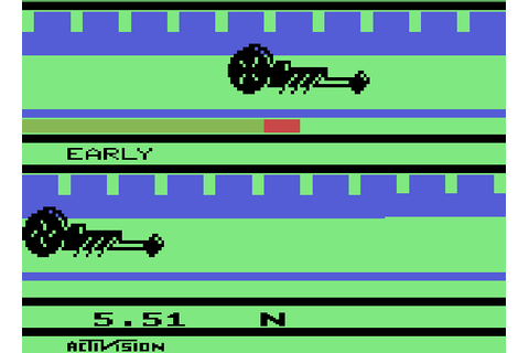 NEO ZONE: Dragster: The Duel (Atari 2600)