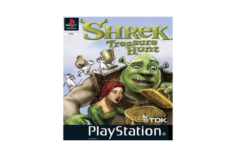Shrek Treasure Hunt – PlayStation PSone
