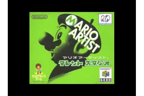 Mario Artist: Talent Studio - Title Theme - - YouTube