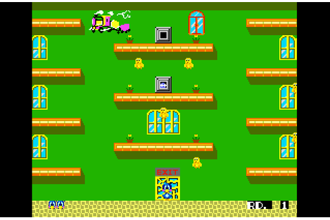 Super Adventures in Gaming: Flicky (Genesis/Mega Drive)