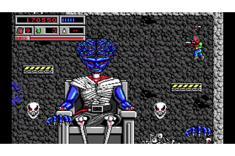 Fleex Plays Bio Menace - 5 - Skull Man - YouTube