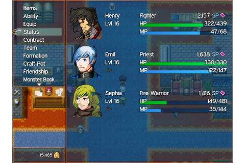 RPG Fighter League on Steam