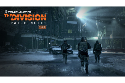 Latest news and content about Tom Clancy's The Division game