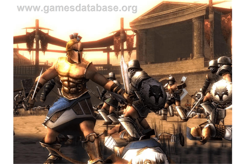 Spartan: Total Warrior - Microsoft Xbox - Games Database