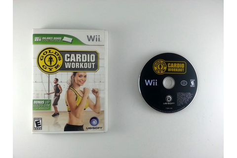 Gold's Gym Cardio Workout game for Wii | The Game Guy