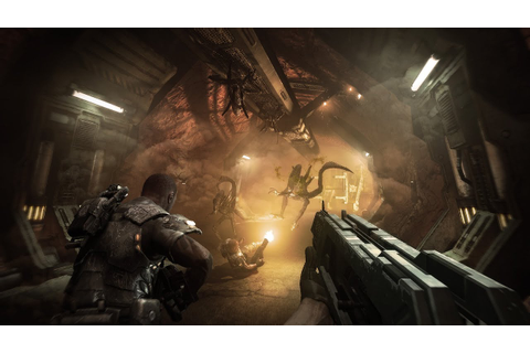 Gameplay: Aliens vs Predator 2010 4k- Ita - YouTube