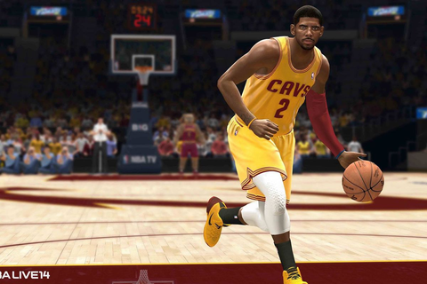 Here's how dribbling works in NBA Live 14 - Polygon
