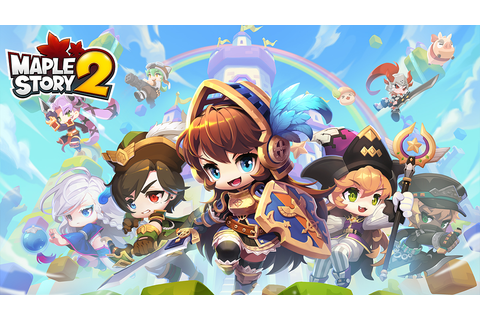 MapleStory 2 is now available | PowerUp!