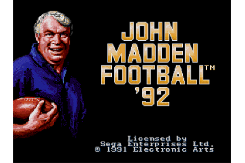 John Madden Football (Series) | Revoking the Sega Seal of ...