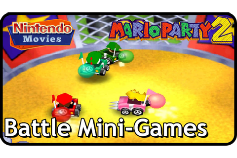 Mario Party 2 - All Battle Mini-Games - YouTube