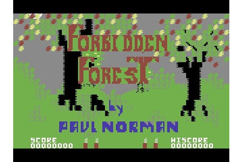 Forbidden Forest C64 Game - YouTube