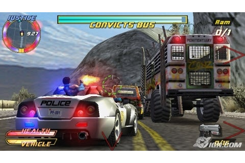 Pursuit Force: Extreme Justice UK Review - IGN