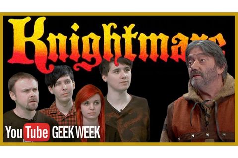 Knightmare TV Show Remake | YouTube Geek Week - YouTube