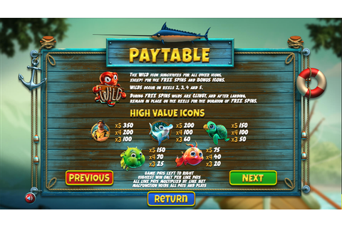 The Angler Slots Review - Online Slots Guru