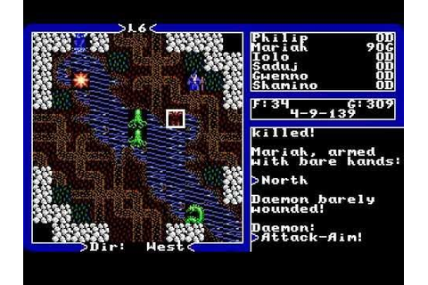 Ultima V speed run in 36 minutes - YouTube