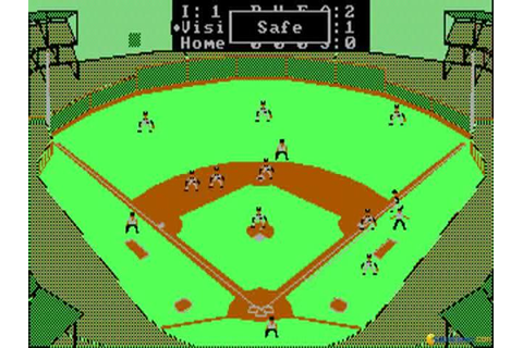Earl Weaver Baseball (1987) - PC Game