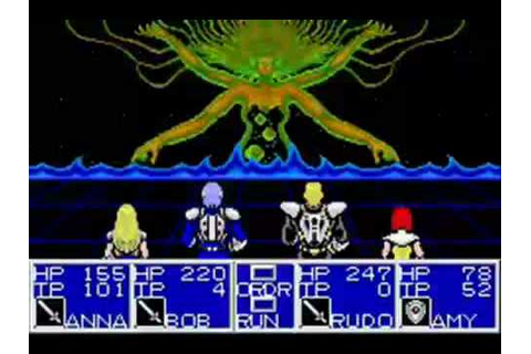 Phantasy Star II Gameplay Video for Sega Mega Drive ...