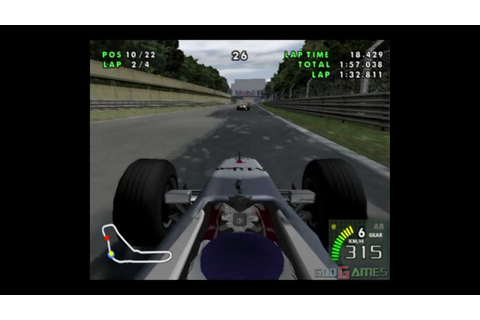 F1 Racing Championship - Gameplay PS2 (PS2 Games on PS3 ...