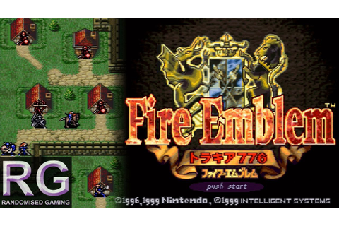 Fire Emblem Thracia 776 - Super Nintendo - Intro & Chapter ...