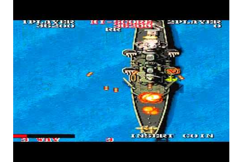 1943 THE BATTLE OF MIDWAY HD ((1943)) ARCADE CAPCOM 1987 ...
