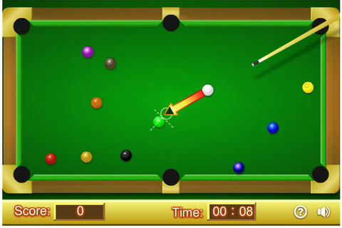 Play Pool Profi 2 - Free online games with Qgames.org