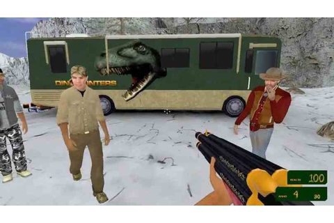 The DinoHunters - an advertisement-supported FPS Game ...