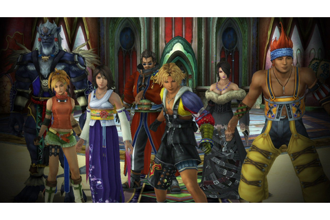 Final Fantasy X / X-2 HD Remaster Coming to PS4 - IGN