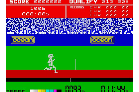 Daley Thompson's Decathlon for ZX Spectrum - Retro Games Now