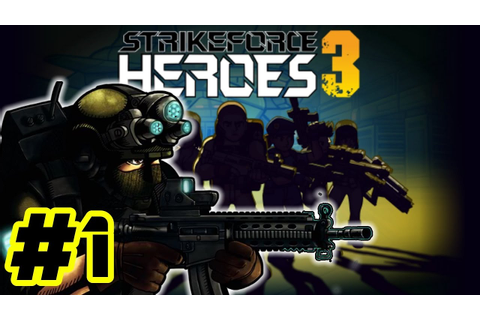 Strike Force Heroes 3 Team Gun Game!! Y Nueva Arma Dorada ...