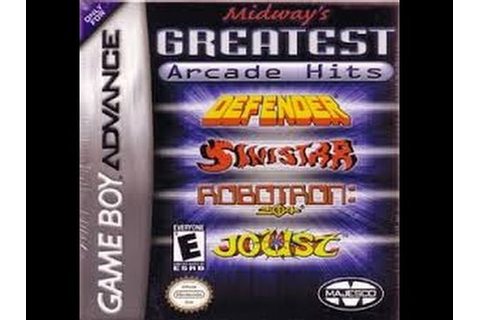 Defender. Midway's Greatest Arcade Hits: GAMEBOY ADVANCE ...