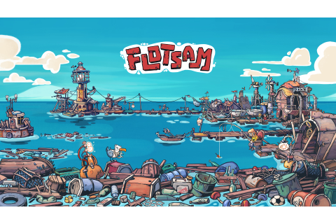 Flotsam: A survival building sim in a flooded world