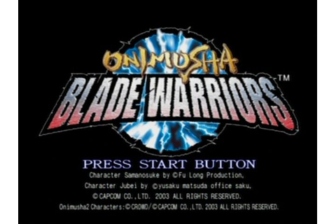 Onimusha: Blade Warriors (Game) | GamerClick.it