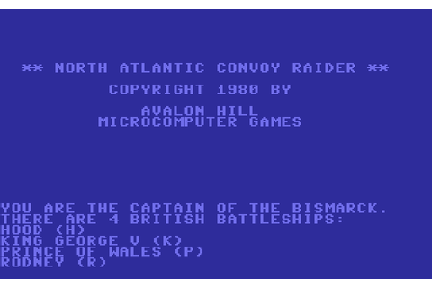 Скриншоты North Atlantic Convoy Raider на Old-Games.RU