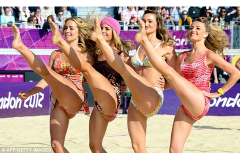 Olympics 2012 women's beach volleyball teams electrify ...