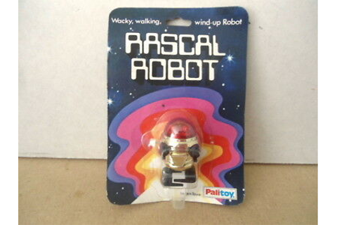 PALITOY TOMY NO.72003 Rascal Robot - Wind Up Walking ...