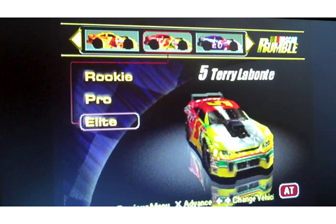 NASCAR Rumble PS1 All Drivers and Cars (Elite) - YouTube