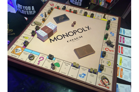 This is what a $1500 Monopoly board game looks like ...