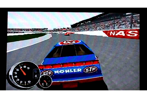 NASCAR 99 PLAYSTATION REVIEW - YouTube